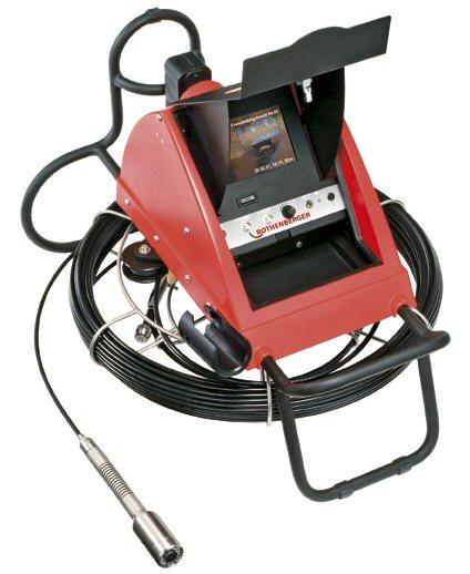 Riool inspectiecamera tot en met diameter 150mm, inclusief meterteller, 230 V.